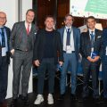 Nella foto da sinistra: 1.    Giorgio Gaglio - Risk Manager di Accorhotels Italia (Moderatore) 2.    Carlo Cosimi - Head of Insurance and Risk Financing di SAIPEM SpA 3.    Cristian Brocchi, ex calciatore ed Allenatore Serie A 4.    Claudio Robbiano - Marketing & Communication Manager 5.    Alessandro De Felice, Presidente ANRA e Chief Risk Officer presso Prysmian Group 6.    Paolo Rubini, Head of Insurance in Telecom SpA e Presidente Onorario di ANRA